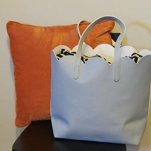 Handbags - NEW Sallys Pastel Petal Tote Beauty Bag Light Blue